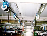 Vehicle Exhaust Extraction  - Rail Systems